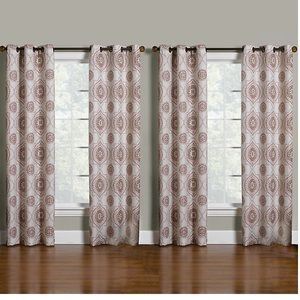 4 grommet top panel drapes Kohl's